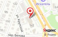Схема проезда до компании Поволжское отделение Института сотовой связи в Ульяновске