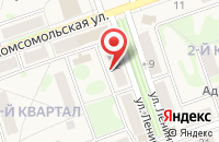 Схема проезда до компании Аско в Новоульяновске