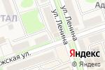 Схема проезда до компании На аллее в Новоульяновске