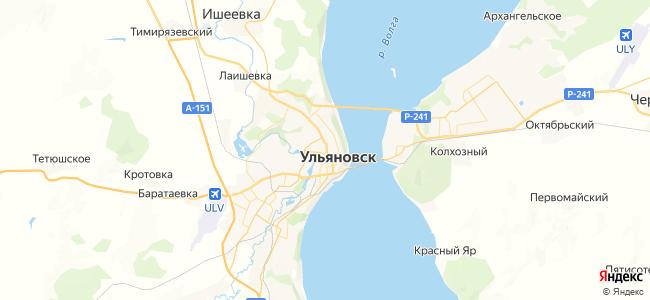 1 трамвай в Ульяновске
