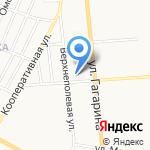 Медико-санитарная часть МВД России по Ульяновской области на карте Ульяновска