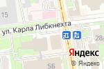 Схема проезда до компании Доктор Борменталь в Ульяновске