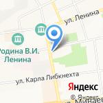 Премьер Дент на карте Ульяновска