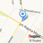 Форт на карте Ульяновска