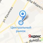 Сеть магазинов красной икры на карте Ульяновска