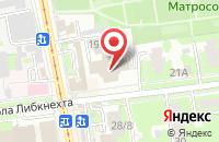 Схема проезда до компании Гарант-Эксперт в Ульяновске