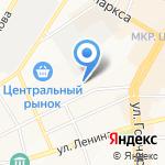 Калипсо на карте Ульяновска