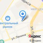 Ульяновская областная коллегия адвокатов Ленинского района на карте Ульяновска