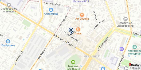 Ингео на карте Ульяновске