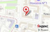 Схема проезда до компании Ульяновский Научный Центр Государственного и Муниципального Управления в Ульяновске