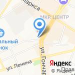 Городская поликлиника №2 на карте Ульяновска
