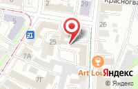 Схема проезда до компании Агро-Содействие в Ульяновске