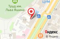 Схема проезда до компании Соренто в Ульяновске