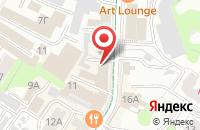 Схема проезда до компании Полиграф-Сервис в Ульяновске