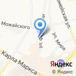 Авион на карте Ульяновска