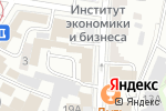 Схема проезда до компании Ворота в будущее в Ульяновске