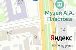 Схема проезда до компании Почтовое отделение в Архангельском