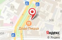 Схема проезда до компании Полиграфф в Ульяновске