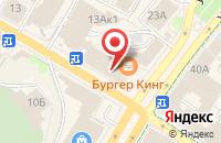 Схема проезда до компании Атриум в Ульяновске