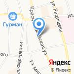 Окна Авангард на карте Ульяновска