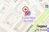 Схема проезда до компании Промо в Ульяновске