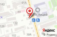 Схема проезда до компании Белорусские кухни в Курске