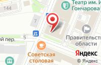 Схема проезда до компании Министерство искусства и культурной политики Ульяновской области в Ульяновске