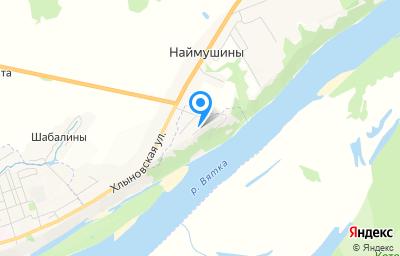 Местоположение на карте пункта техосмотра по адресу Кировская обл, г Котельнич, ул Цветочная