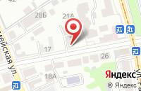 Схема проезда до компании Прибой в Анджиевском