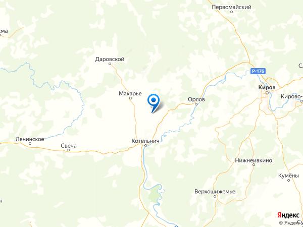 деревня Гремячево на карте