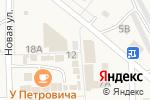 Схема проезда до компании Де Аль в Приволжском