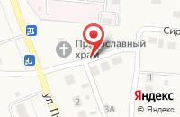 Схема проезда до компании Волга - Дизайн в Сызрани