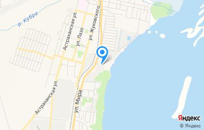 Местоположение на карте пункта техосмотра по адресу Самарская обл, г Сызрань, ул Мира, д 1Б