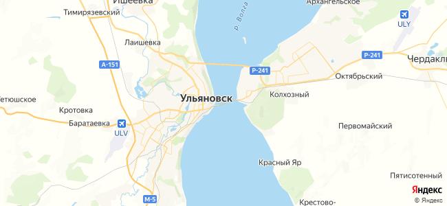 28 маршрутка в Новоульяновске