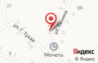 Схема проезда до компании Фельдшерско-акушерский пункт в Больших Ширданах
