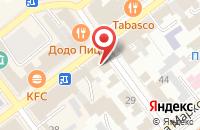 Схема проезда до компании Акцент в Сызрани