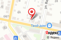 Схема проезда до компании Альянс в Сызрани