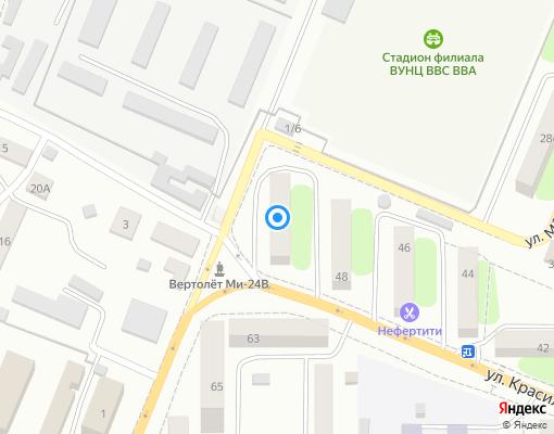 Товарищество собственников жилья «Заря» на карте Сызрани