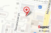 Схема проезда до компании Рекламная Группа «Тандем» в Сызрани