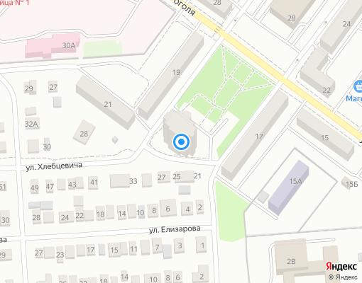 Товарищество собственников жилья «Хлебцевича 24» на карте Сызрани