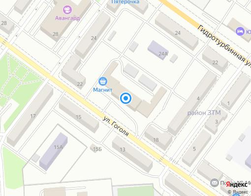 Управляющая компания «Центр» на карте Сызрани