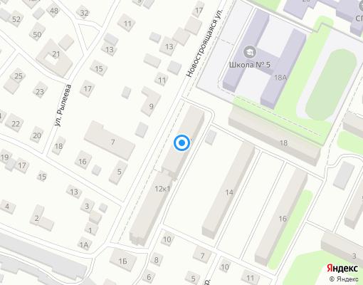 Товарищество собственников жилья «Новостроящаяся» на карте Сызрани