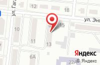 Схема проезда до компании Брэнд Промоушн в Зеленодольске