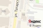 Схема проезда до компании Банкомат, БИНБАНК, ПАО в Зеленодольске