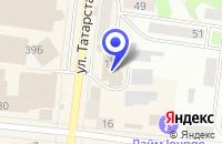 Схема проезда до компании СЕТЬ МАГАЗИНОВ БЕРЕЗКА в Зеленодольске