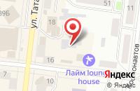 Схема проезда до компании Нур в Зеленодольске