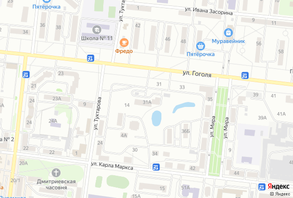 купить квартиру в ЖК По ул.Гоголя 31А