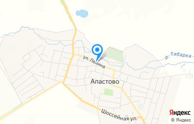 Местоположение на карте пункта техосмотра по адресу Респ Татарстан, пгт Апастово, ул Ленина, зд 63