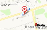 Схема проезда до компании Рубин в Нижних Вязовых