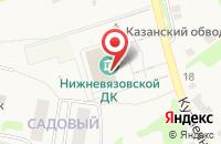 Схема проезда до компании Нижневязовская поселковая библиотека в Нижних Вязовых